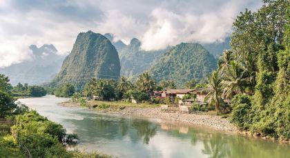 Reiseziel Luang Prabang / Mekong in Laos