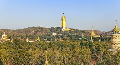 Monywa in Myanmar