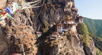 Reiseziel Paro in Bhutan