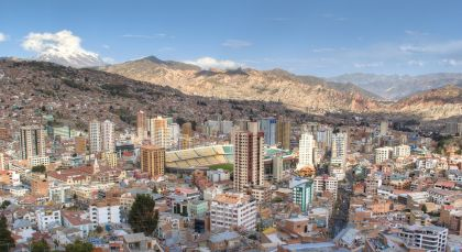 Destination La Paz in Bolivia