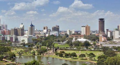 Nairobi in Kenia