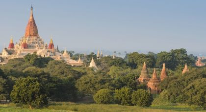 Destination Bagan in Myanmar