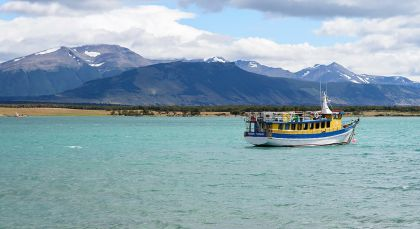 Puerto Natales in Chile