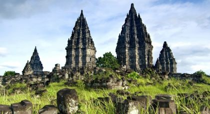 Yogyakarta in Indonesien