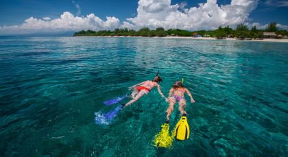 Reiseziel Gili Trawangan in Indonesien