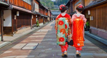 Destination Kanazawa in Japan
