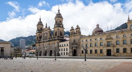 Destination Bogota in Colombia