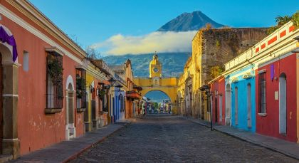 Destination Antigua in Guatemala
