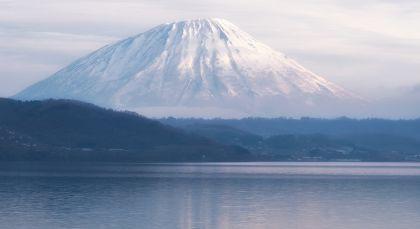 Lake Toya in Japan