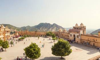 Amber Fort in Jaipur India
