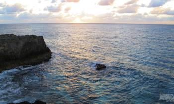 Clifftop sunset