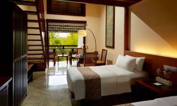 this is a photo of a Family Room at Melia Bali Indonesia