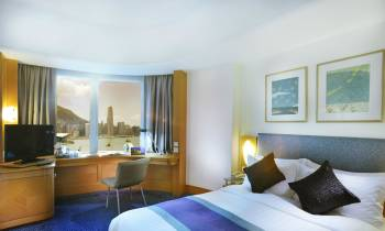 Harbour View Room - artists impression