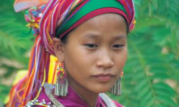 Thai Hill tribe woman