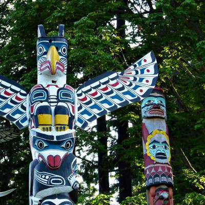 Stanley Park Totem Pole, Vancouver