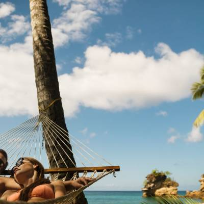 Romance hammock Cr St Lucia Tourism Authority