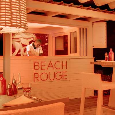 Beach rouge