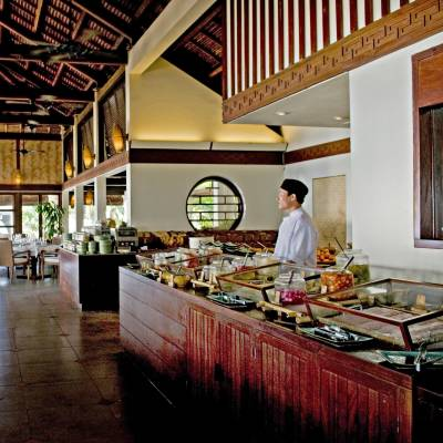 Breakfast buffet at The Pavilion Restaurant
