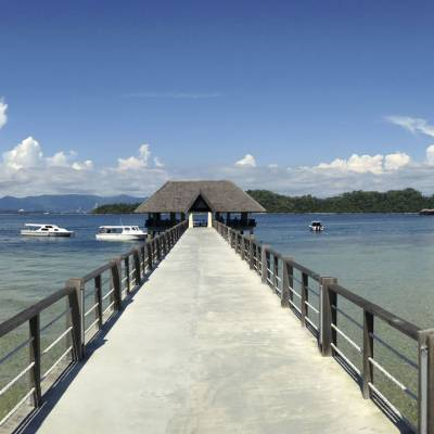 Gaya Island Jetty