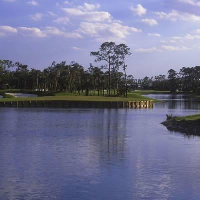 Championship 18 hole golf course
