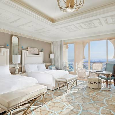 Deluxe Room Queen With Balcony and Golf View