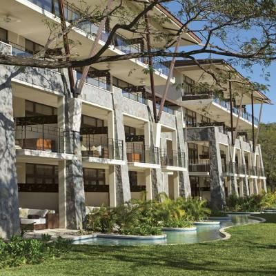 Resort blended into nature