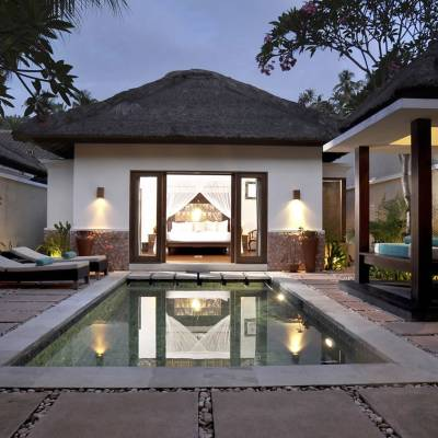 One bed room Private pool villa view