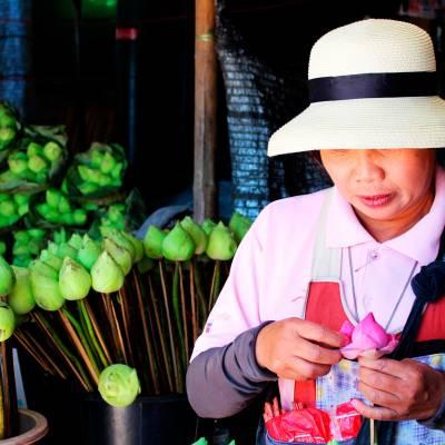 a boy wearing a hat