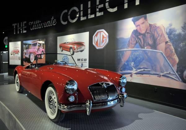 Elvis Automobile Exhibit
