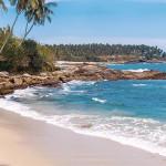 Tangalle Strand in Sri Lanka