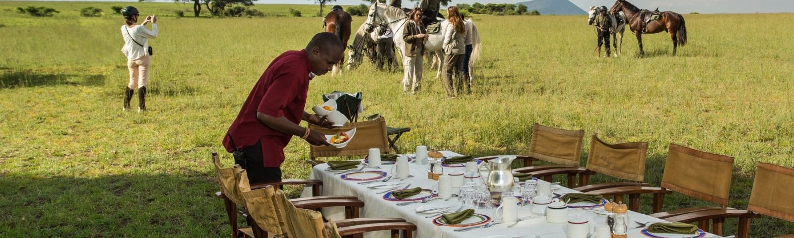 Enchanting Travels - Kenya Tours - Chyulu Hills - Ol Donyo Lodge - Bush Breakfast - Is Kenya Safe?