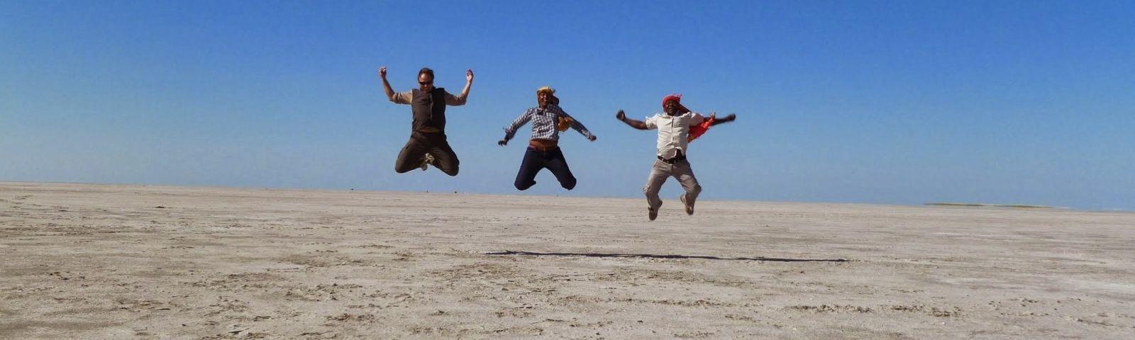 Kalahari salt pans