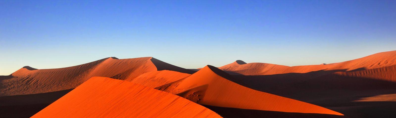 Enchanting Travels - Namibia Reisen - Sossuvlei - Sanddüne - Sonnenuntergang