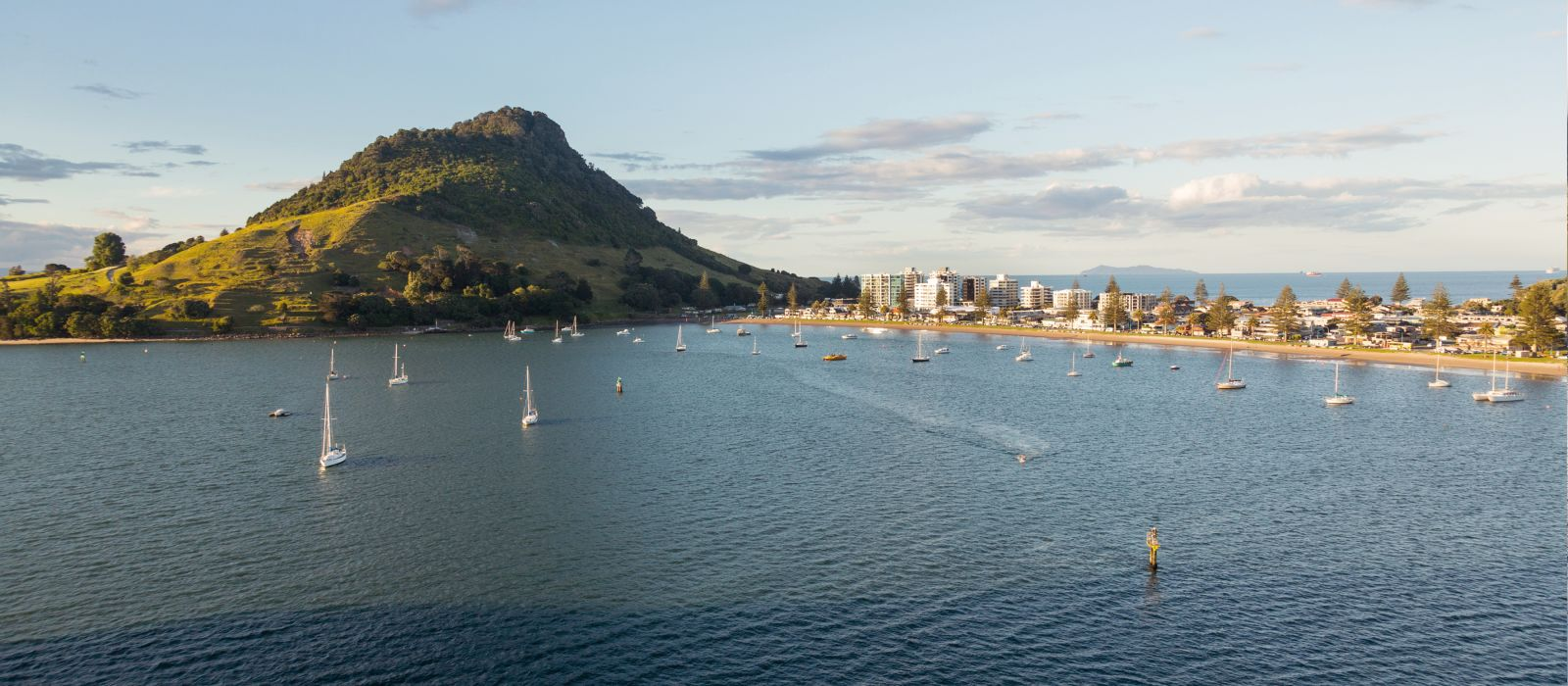 Tauranga, New Zealand, the city surrounded by water