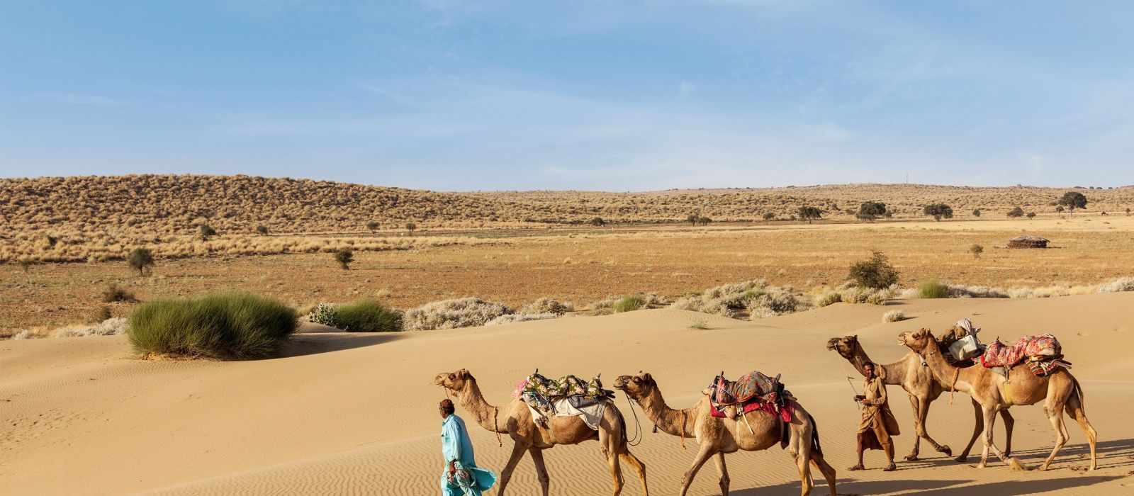See Sensational Miles Of Nothingness In Jaisalmer