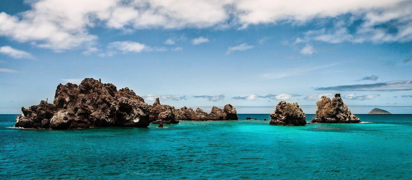 Felsformationen auf den Galapagosinseln