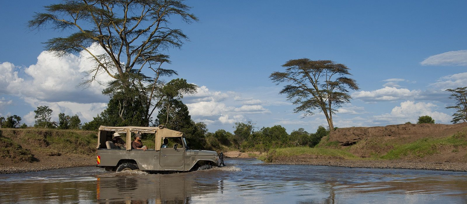 The Goal - Africa to Brazil Enchanting Travels-Kenya Tours-Laikipia-Ol Pejeta Bush Camp-river