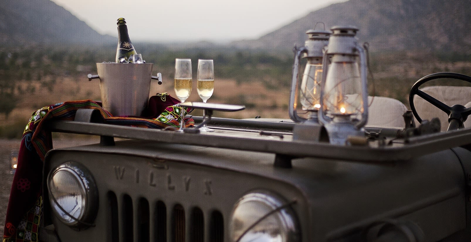 Sundowner in Rajasthan's wilderness - Perfect for winter travel