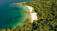 Overview of Lake Malawi - Mozambique