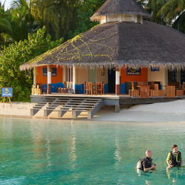 Diving center at Ellaidhoo Maldives by Cinnamon in Male, Maledives