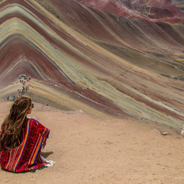Rainbow Mountains in Cusco