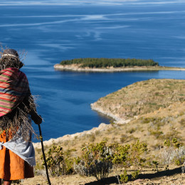 Lake Titicaca, Isla del Sol, Bolivia, South America
