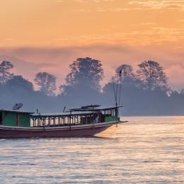 Mekong river cruise