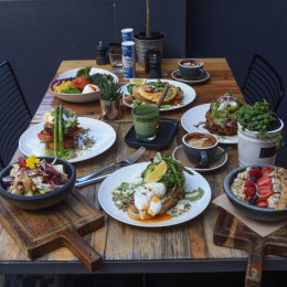 Breakfast Feast at Melbourne Cafe, Australia Tours
