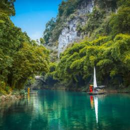 Enchanting Travels China Tours An ancient town at the Yangtze River, Guizhou China