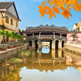 Enchanting Travels Vietnam Tours Japanese Bridge in Hoi An. Vietnam, Unesco World Heritage Site