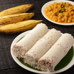 Puttu - A popular dish in Kerala