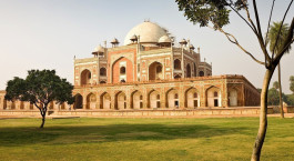 Palast in der Metropole Delhi in Indien
