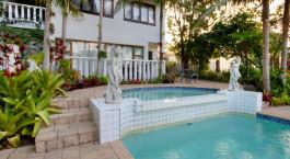 Pool im St. Lucia Wetlands G House Hotel in Isimangaliso, Südafrika