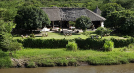 External view of Karen Blixen Camp in Masai Mara, Kenya